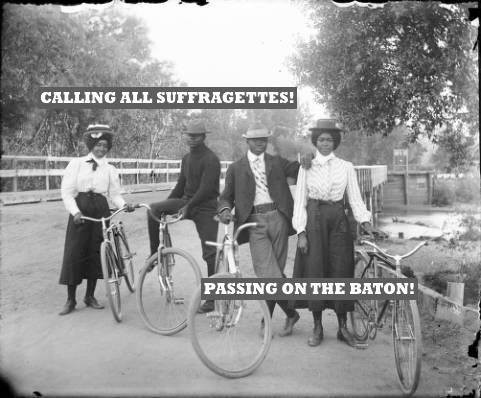 COURTESY OF THE NEWBURGH SUFFRAGETTES!