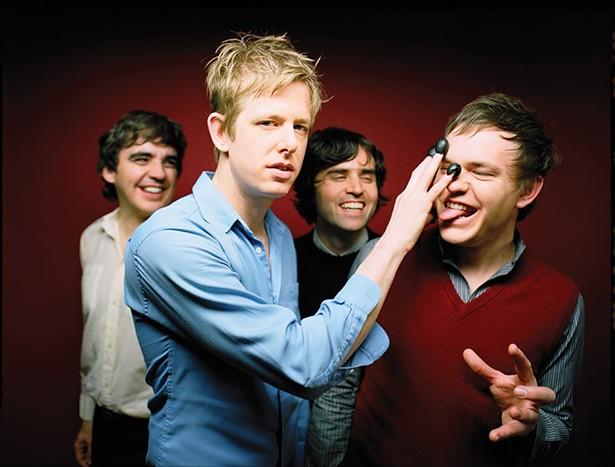 Spoon performs at the Chance in Poughkeepsie on December 1.