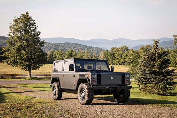 The Bollinger B-1, a fully electric SUV made by Hobart-based Bollinger Motors. Photo by Torkil Stavdal.