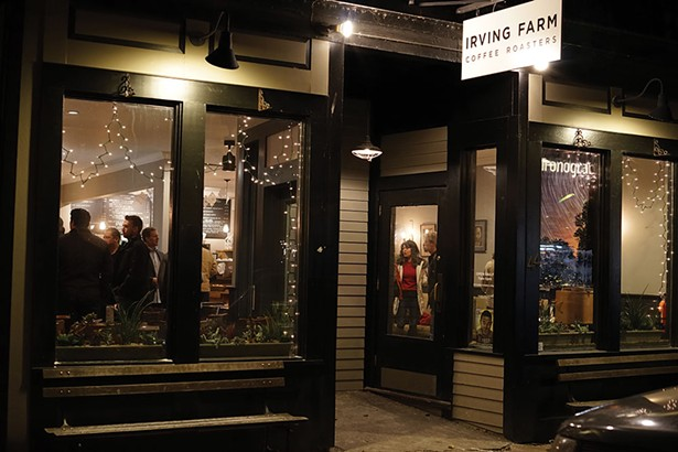 Irving Farm Coffee House is located on Main Street in downtown Millerton. - JOHN GARAY