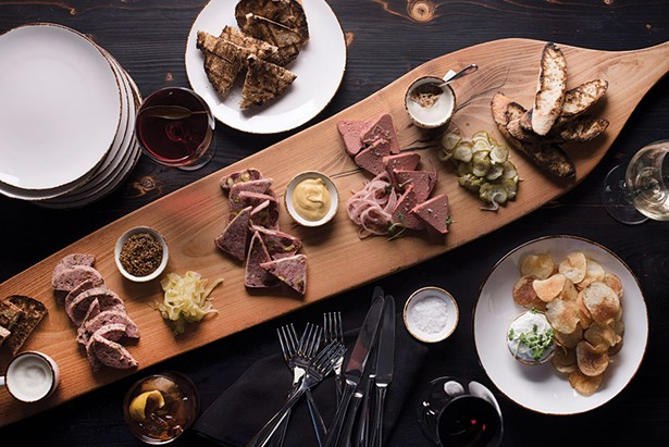 The charcuterie board at The Amsterdam. - LIZ CLAYMAN