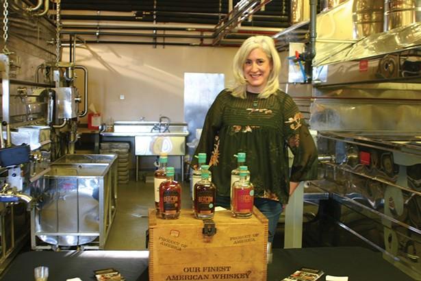 Susan Johnson of Denning's Point Distillery. - BRIAN BERUSCH