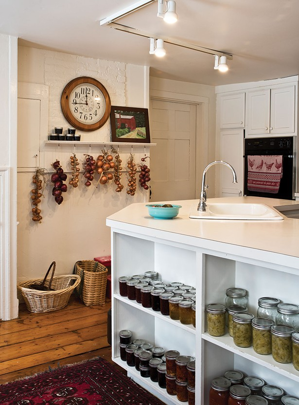 """It's a wonderful kitchen for entertaining,"" explains Callan. ""Bill is an amazing cook and it's enjoyable to watch him when he cooks, he's a little theatrical."" - DEBORAH DEGRAFFENREID"