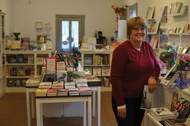 Teresa Lepore at Postmark Books in Rosendale - JOHN GARAY