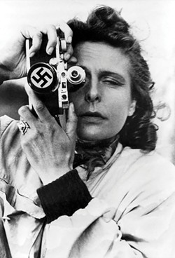 "Infamous director Leni Riefenstahl is the subject of Sarah Greenman's play, ""Leni,"" which will be staged at Bridge Street Theater in Catskill this month."