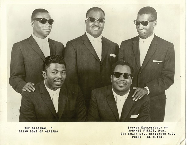 The Blind Boys of Alabama are featured in Robert Clem's documentary How They Got Over, which will be screened on May 13 at the Rosendale Theater.