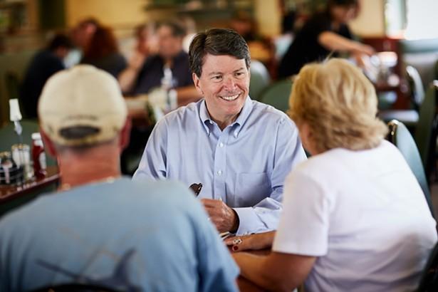 First-term incumbent Republican John Faso has a tough race ahead of him - JOHN FASO