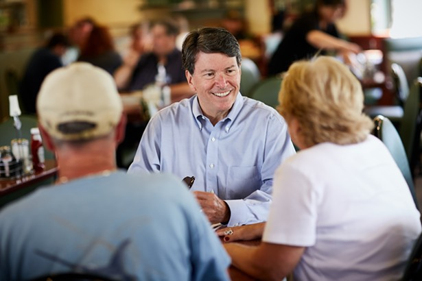 First-term incumbent Republican John Faso has a tough race ahead of him - JOHN FASO