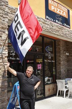 Domenick Diecidue, owner, Main Street Pizza and Cafe. - JOHN GARAY