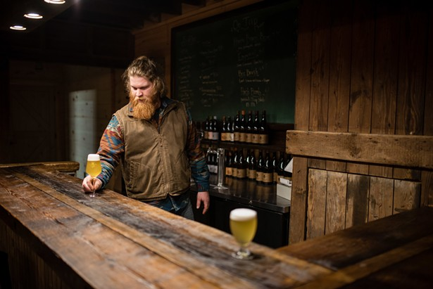 After a three-year barn renovation, Plan Bee Brewery recently opened the doors to its new tasting room. - PHOTO BY DEREK DELLINGER