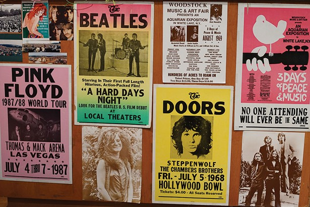 The Woodstock Blues checkout counter. - JOHN GARAY