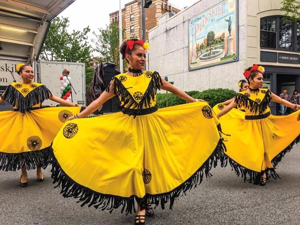 A Cinco de Mayo celebration in downtown Peekskill. - ROBERT OLSSON