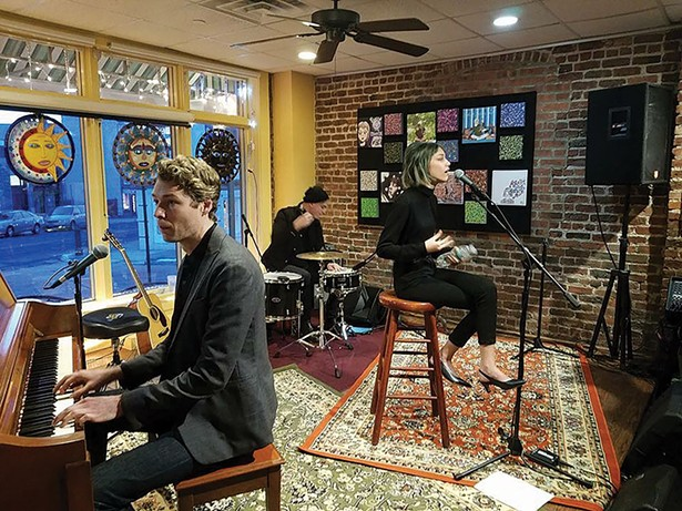 Grace Vanderwaal, who started playing at the BeanRunner Cafe when she was 11, performs a special concert for fans that came in from all over the world. - ANDY PHILLIPS