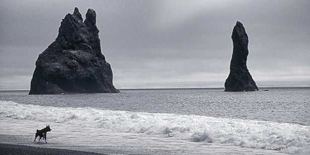 Claudia Gorman's photograph Black Sand Beach