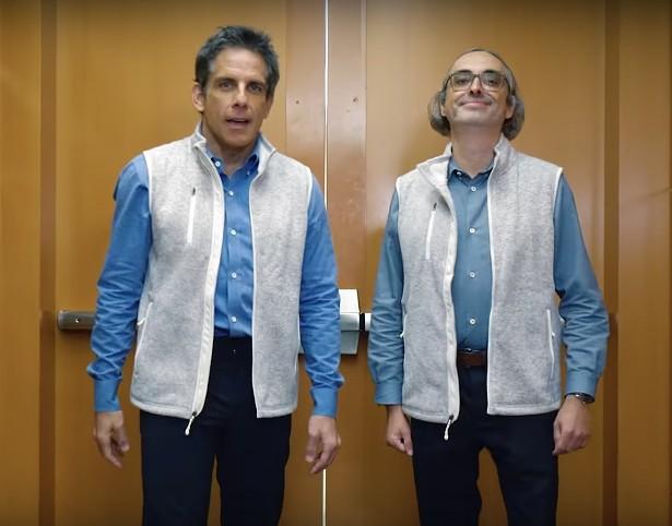 """Ben Stiller and Gary Shytengart in the trailer for """"Lake Success."""""""