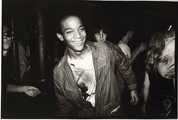 Jean-Michel Basquiat, Mudd Club dance floor 1980. - NICK TAYLOR
