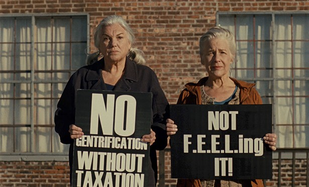 Tyne Daly and Elizabeth Henry star in Patrick Wang's new two-part film, A Bread Factory. The film, a loosely fictionalized account of longtime Hudson residents Claudia Bruce and Linda Mussmann, who run Time and Space Limited, was shot at locations around the city. It premieres at Time and Space Limited on Septemebr 3.