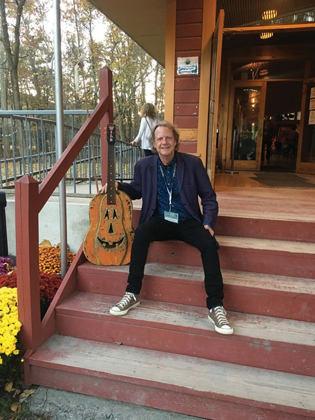 Baker Rorick, founder of the Woodstock Invitational Luthiers Showcase; - MARK HELLER