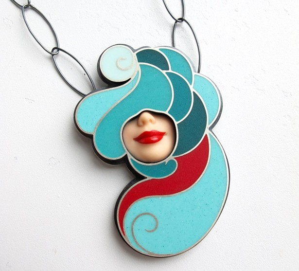 Smile Necklace by Margaux Lange