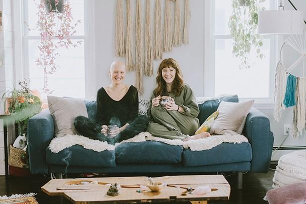 Alyia Cutler and Meghan Conway of Wyld Womyn Beacon. - ALICIA KING PHOTOGRAPHY