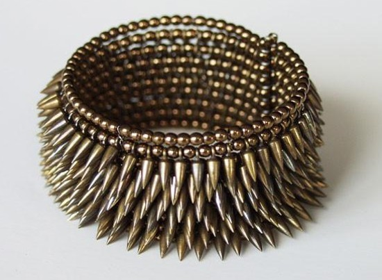 Bullet Cuff - 8 Row Toned & Bronze, Estyn Hulbert