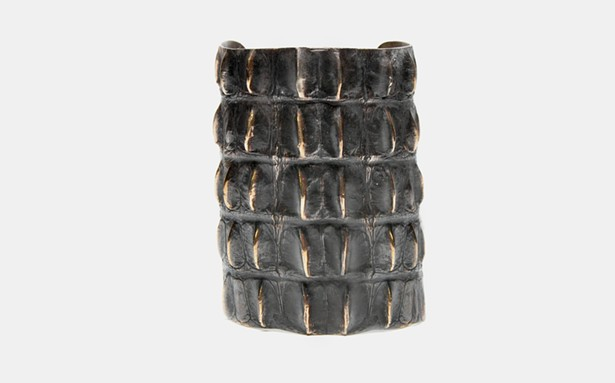 Alligator Cuff Bracelet, Marisa Lomonaco
