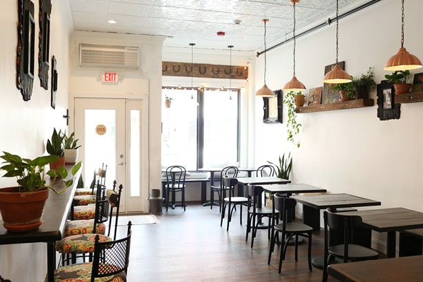 The interior of Fogwood & Fig