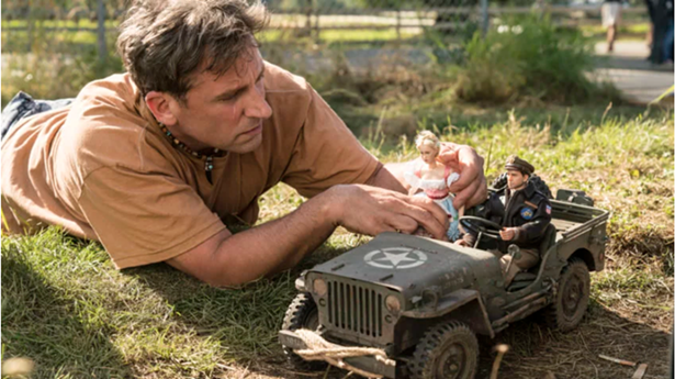 "Steve Carell plays Mark Hogancamp i ""Welcome to Marwen."" - ED ARAQUEL/UNIVERSAL PICTURES"