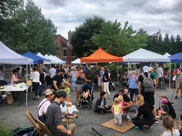 The Great Barrington Farmers' Market has been operating for 29 years.