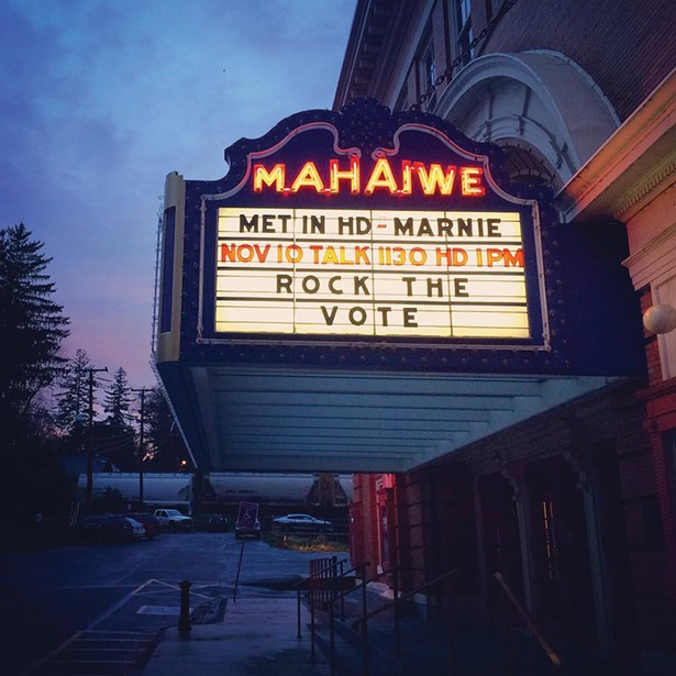 The Mahaiwe Performing Arts Center is the cultural hub of Great Barrington.