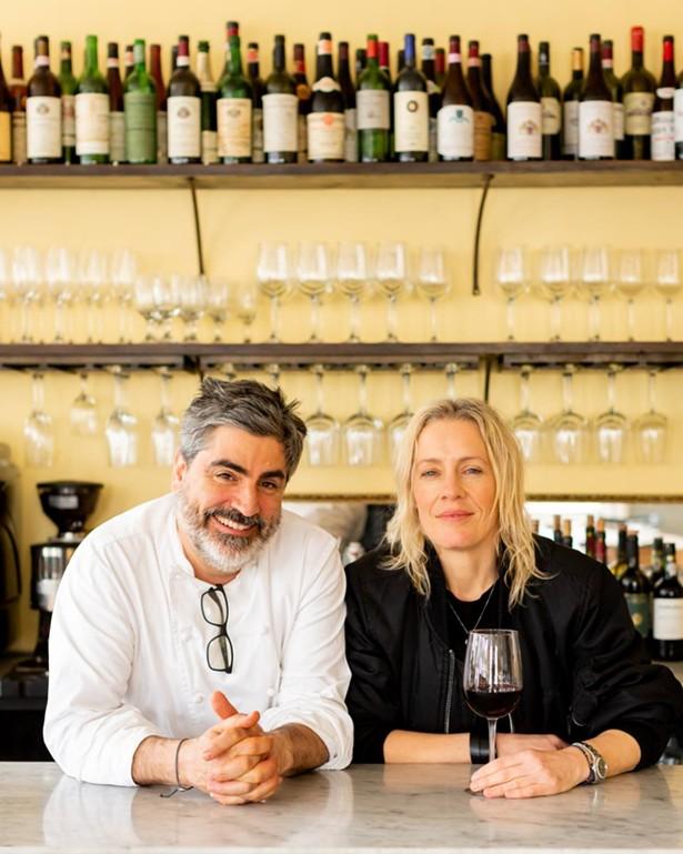 Mercato owners Francesco Buitoni and Michele Platt