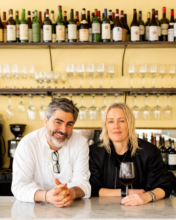Mercato owners Francesco Buitoni and Michele Platt