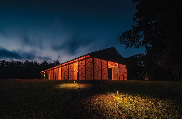 The pavilion at Gather Greene. - PHOTO BY SPOTICUS PHOTOGRAPHY