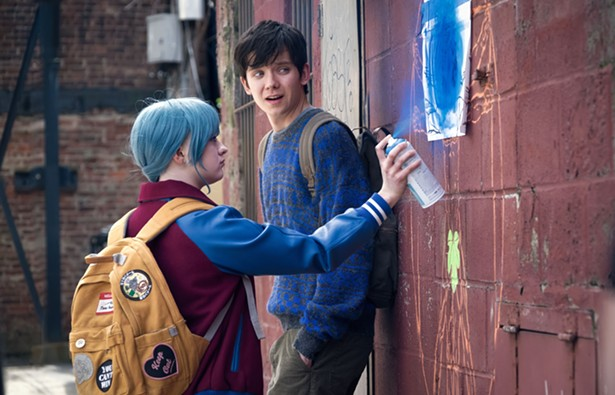Maisie Williams as Skye and Asa Butterfield as Calvin. Then Came You arrives in theaters and On Demand onFebruary 1st from Shout! Studios. - SHOUT! STUDIOS