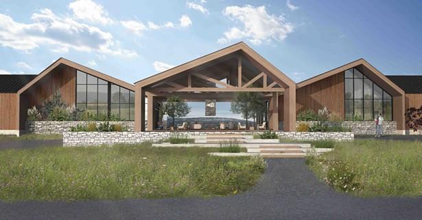 Rendering of Heartwood Resort & Spa