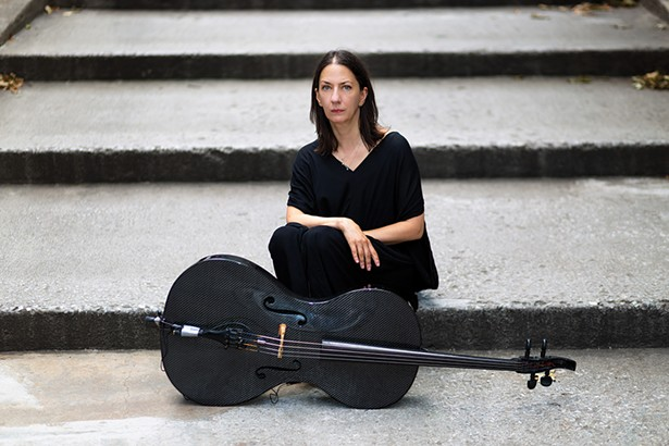 Julia Kent plays Hudson Hall on March 8 - PHOTO BY MIKIODO