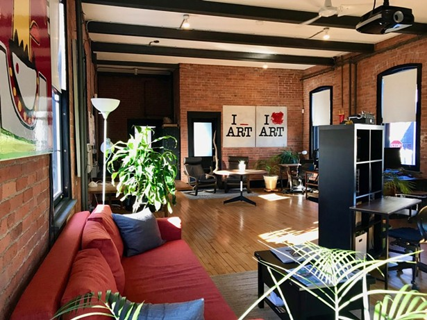 Beahive in Beacon, the OG Hudson Valley coworking space.