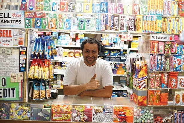 Nassar of Mike's Convenient Store - PHOTO: JOHN GARAY