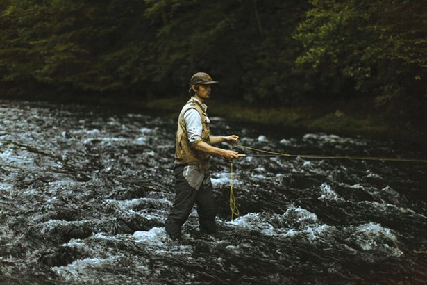 Fishing the Willowemoc Creek at Livingston Manor Fly Fishing Club; a modern day interpretation of a Catskills Fly Fishing Club. Open for private groups, individual bookings on select weekends, and a number of intimate member events each annum. - PHOTO: PETER CROSBY