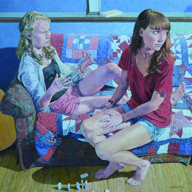 Gerard Wickham, Cat's Cradle, 2014.