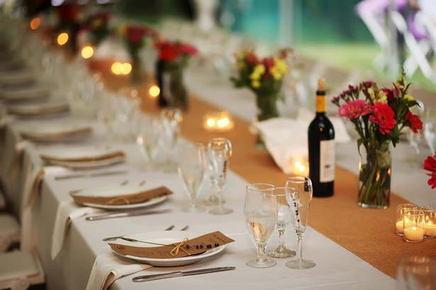 A wedding catered by Lola's Café
