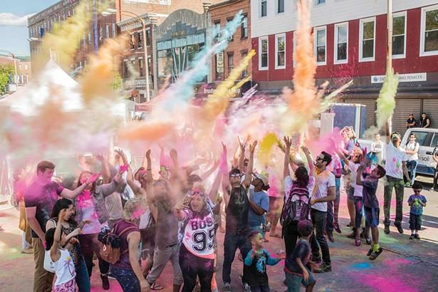 Colorfest at Newburgh Illuminated