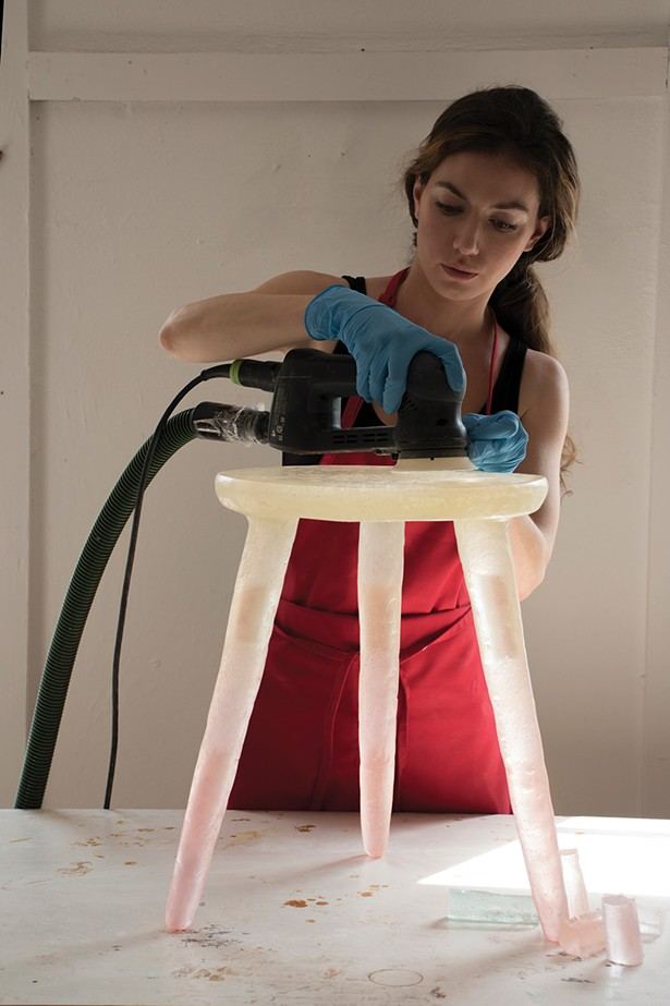 Furniture designer and maker Kim Markel. - PHOTO: KIM MARKEL