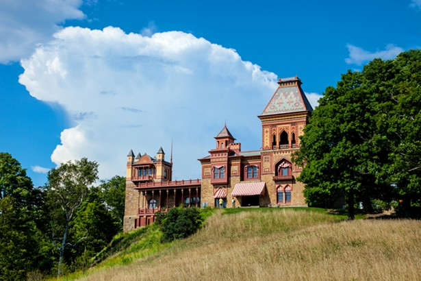 """""""View of the Main House at Olana"""" - PHOTO BY BETH SCHNECK PHOTOGRAPHY"""