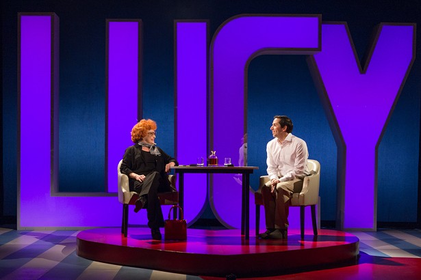 """Sandra Dickinson and Matthew Bunn in the London production of """"I Loved Lucy."""""""