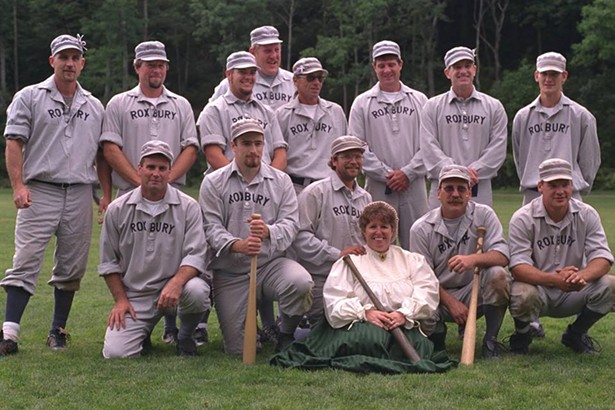 The Roxbury Nine vintage baseball team