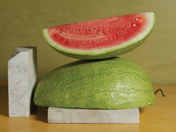 Odell's Large White watermelon. - PHOTO: VICTOR SCHRAGER