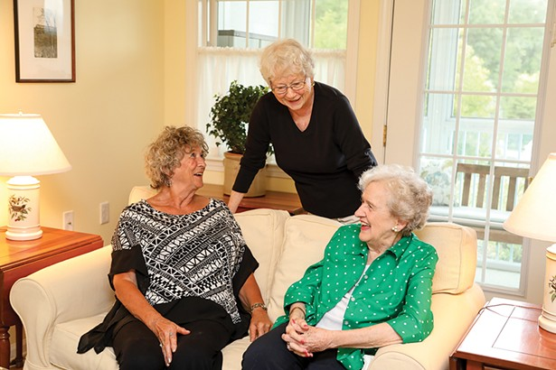 Woodland Pond's homeshare program allows residents to live together and share on costs.