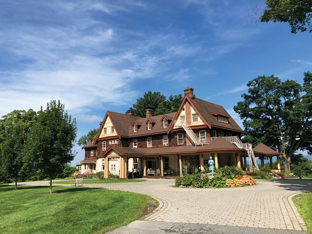 The School of Practical Philosophy's upstate location at the historic Borden Dairy Home Farm in Wallkill.