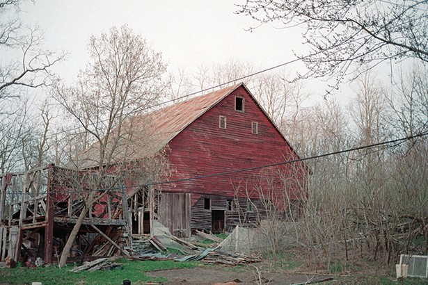 Palen Barn 2001